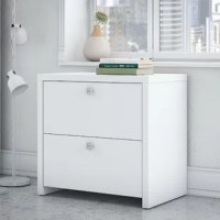 The Echo 2-Drawer Lateral Filing Cabinet organizes the home or professional space while expressing your uniquely fashionable tastes.