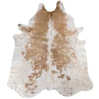 This Burgess Metallic Salt and Pepper Cowhide Beige/Brown Area Rug is one that mixes two sorts of appeals, exotic, and bright! With some of the richest tones, such as the golden-flax along a ravishing bed of beige and white, it is the kind of rug that bears a very particular sense of charm because of its ability to fit in well, and enliven almost any environment. Hand in hand with its dignified aesthetic comes a texture that can attract you just as strongly, begging for your touch. None of the...