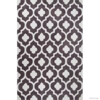 Enjoy long relaxing times on this extra soft extra dense heat-set olefin pile carpet. Each rug is hand-carved by artisans bringing life and new dimension to designs. High quality weaving and finishing assure long easy care life for these rugs. Stain and soil resistant. These hand tufted rugs were created to bring vitality from the floor up and throughout any room. Utilizing fashionable, fresh, and bold colors in concert with simplistic yet fashion savvy designs that compliment but not...