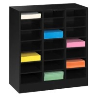 This handy and sturdy piece is great for organizing office materials, documents and forms, or distributing incoming mail.  Organize your space efficiently by stacking literature sorters and thirty-drawer organizers, both of which come in letter and legal size.
