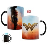 "Reveal the warrior in you with this cinematic, image revealing mug. Watch as this heat reveal mug unveils a powerful image of Wonder Woman with the words ""Lady of Hope"" above her insignia. While this mug may be used in the dishwasher or microwave, for the longest lasting and highest quality product, Morphing Mugs™ strongly recommend against it."