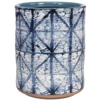 Update your bathroom with this handsome wastebasket.