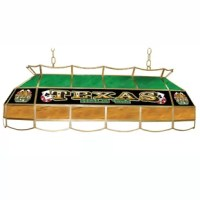 This Stained Glass Tiffany Lamp is an incredibly high quality lighting fixture. Use for your lighting your Billiard Table, Kitchen Table or even your Dining Room Table.