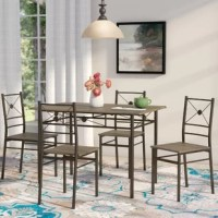 Vara 5 Piece Dining Set