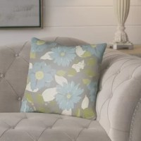 Add style and sophistication to any room with this decorative throw pillow.