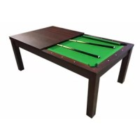 Missisipi Model Snooker Full Accessories Pool Table, ideal for entertaining friends.