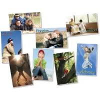 Inspire faith in action! Engaging photographs call students to believe, celebrate, comfort, forgive, love, pray, serve, and worship. Eight colorful posters per package.