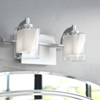 Offering a boost of brightness and a splash of contemporary style, this clean-lined vanity light is ideal for updating the aesthetic in your bathroom. Crafted of metal and suited for damp spaces, this sleek fixture spans just 13