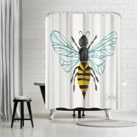Live life creatively with this stunning shower curtain from exclusive artists collection. Fun, sweet and oh-so chic. This shower curtain is the perfect way to celebrate your impeccable style and breathe new life into your washroom.