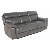 This well-tailored Randel Reclining Sofa provides the utmost in comfort and style. Supreme seating comfort is achieved with 56 pocketed coils per seat, memory foam gel seat cushions and the sinuous wire spring system maximizes support and comfort without sagging. No skimping on arm comfort with solid foam arm pads and padded outside back and arms. Available in gray or dark brown, the breathable, padded polyurethane upholstery replicates the soft texture and pliancy of top-grain leather but at a...