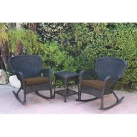 For those about to rock: we salute you. This traditional rattan conversation set is the ideal addition to your porch or back patio. Both chairs and the end table are weather-resistant, making them an ideal option for the porch or patio. The chairs feature polyester seat cushions, making it the perfect set to relax on, whether you're sipping your morning coffee, reading a book, or chatting with friends.To clean, just hose off.