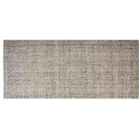 By blending soft, neutral tones, the overall look of this Hand-Woven Rectangle Ash Gray Area Rug will complement virtually any home. Soft and warm underfoot, the felted wool feels like a mini massage for your feet!