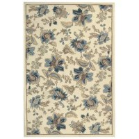 100% pure virgin wool pile, hand-hooked to a durable cotton backing. This product is handmade in China.