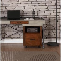 Melding the words upscale and urban, this filing cabinet offers a contemporary look with a clean, uncluttered design and industrial flair. Crafted from select solid woods and veneers, this collection is sure to satisfy even the most sophisticated of tastes.