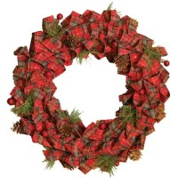 From the holiday moments Collection, This Bows and Pine Cones Artificial Christmas 14