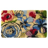 This beautiful Floral Doormat gives a great first impression to your home before you even open your door. Let your door mat do the talking with style and elegance.