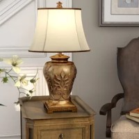 A timeless design that will create an elegant look brightening a den, entryway or bedroom.