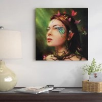 The artwork is crafted with 100-percent cotton artist-grade canvas, professionally hand-stretched and stapled over pine-wood bars in gallery wrap style - a method utilized by artists to present artwork in galleries. Fade-resistant archival inks guarantee perfect color reproduction that remains vibrant for decades even when exposed to strong light. Add brilliance in color and exceptional detail to your space with the contemporary and uncompromising style of canvas.