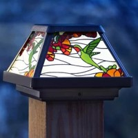 The Hummingbird Solar Powered LED Fence Post Cap adds a decorative touch to your deck, patio or garden; all while taking advantage of solar energy. This light provides a 360-degree display and 120-degree beam angle of warm white LED lighting. The LED bulb will never need to be replaced and will remain cool to the touch at all times. With no wiring required, installation, long-term energy savings and becoming eco-friendly has never been easier! The solar lights gather energy from the sun during...