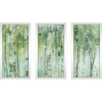 Refresh your home with this exciting and inspiring framed plexiglass wall art set of 3!
