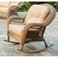 With its looks and flavor, this Alley Outdoor Garden Rocking Chair with Cushions makes an alluring addition to any outdoor living space. The chair features exquisitely woven wicker with gently sloping curves and soft yet supportive cushioning. Seat cushions are designed and craft with polyester to resist weather elements and stay beautiful through years of use
