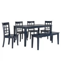 This Alverson 6 Piece Dining Set shows your individuality and inspires family and guests to gather for a meal.
