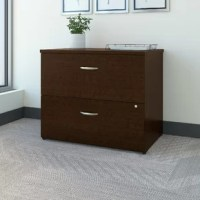 Outfit your office decor with the refined and practical Series C 2 Drawer Lateral Filing cabinet. Smart and versatile, this file cabinet is a great option to organize your files and folders for easy access. Featuring a compact and space-saving design, it can be easily placed beside your desk or computer table. This file cabinet has a contemporary style, which is revved up by its meticulous construction and fine finesse.