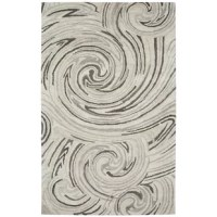 With a blend of viscose and wool, this Ernesto Hand-Woven Ivory/Gray Indoor Area Rug brings a natural richness and sheen to modern design. The mostly viscose pile creates a silken finish and soft luster intriguing from end to end. The tonal neutral color palette plays with a light on its surface for a luxurious look. From modern abstract designs to simple borders, this rug adds a sophisticated natural softness and textural depth to any space. There may be some fiber loss in installation, usage...