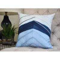 Create a cool coastal environment in your home with a decorative sea pillow! This Harriet Boat Bow Print Throw Pillow was designed to bring the sophistication and beauty of the sea to your home décor. You'll love the feel of this collection and the summer warmth it will bring to your decor.