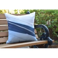 Create a cool coastal environment in your home with a decorative outdoor pillow. This product was designed to bring the sophistication and beauty of the sea to your home décor. You'll love the feel of this collection and the summer warmth it will bring to your outdoor decor.