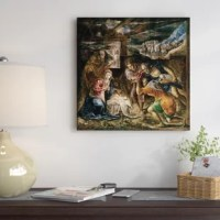The artwork is crafted with 100% cotton artist-grade canvas, professionally hand-stretched and stapled over pine-wood bars in gallery wrap style a method utilized by artists to present artwork in galleries. Fade-resistant archival inks guarantee perfect color reproduction that remains vibrant for decades even when exposed to strong light. Add brilliance in color and exceptional detail to your space with the contemporary and uncompromising style of East Urban Home. Ready to be displayed right...