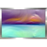 Bring color to your walls and revitalize your room with this trendy ready-to-hang Giclee canvas wall art!