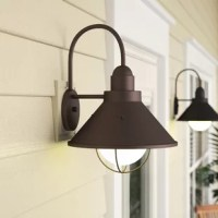 The Seaside™ outdoor wall light features a classic look that works in several aesthetic environments, including rustic, coastal, traditional and transitional.