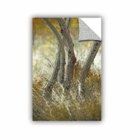 'Tree Trunks in Grass 5' is a beautiful reproduction featuring an impressionistic depiction with beautiful detail.