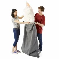 This Big Joe Bean Bag Replacement Fill will eventually need to be refilled and the big joe bean bag refill 2 pack is the perfect fix. The new mega bean is stronger than ever and will make your big joe bean bag look new again.