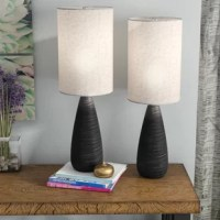 Bring balance and brightness to any arrangement in your home with this pair of 27.5