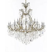 This Maclachlan 25-Light Candle-Style Chandelier dressed in large, luxe crystals. Great for the foyer, entryway, living room, family room and more. Swarovski is the world's leading manufacturer of high-quality crystal. Swarovski undergoes stringent quality control and offers the best crystal for uniformity of sparkle, light reflection, and spectral colors. Nothing was ever quite so elegant as the fine crystal chandeliers that lent sparkle to brilliant evenings in palaces and manor houses across...