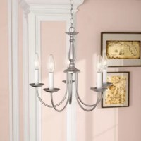 Bibbins 5-Light Candle Style Classic / Traditional Chandelier