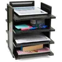 Keep your office clean, neat and organized by organizing your documents and folders. You can change the way it looks by having a wider or longer look just changing the direction of the trays. It's great for home or office use in order to keep everything organized and neat.