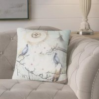 Gossamer Bird Cage Flower Throw Pillow is beautiful throw accent pillow has unique designed print artwork or pattern to bring accent piece to your living room, dining room, bedroom.