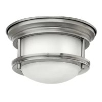 The etched opal glass shade features a slim design that will complement a variety of decor. This small-scale fixture packs a big punch - the patented LED technology produces as much light as 100W bulb while consuming only 1/6th the energy. This fully dimmable is suitable for both ceiling and wall mount applications. The scale and performance of this collection lends itself to multiple fixture installations, and it is particularly ideal for converting existing recessed can fixtures.