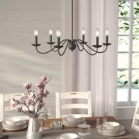 Perseus 6 - Light Candle Style Classic / Traditional Chandelier