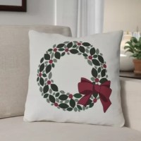 Simple and understated. This pillow adds the perfect finishing touch to your holiday decor.