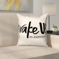 Accessorize any sofa, chair, or bed with this pillow. Designed with a humorous saying, this decorative pillow is the perfect accessory for any room in your home. The script pillow also makes wonderful gifts for all the travel lovers in your life. Custom made to order.