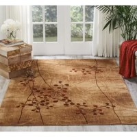 No matter which room you're decorating, an area rug helps pull it all together. This design, for example, features a sprig of leaves to lend a natural touch to your ensemble. It's crafted from fade- and stain-resistant polyester with a 0.5'' pile height, so it encourages comfort underfoot while remaining easy to clean with regular vacuuming. We recommend pairing this piece with a rug pad to keep it steady on your floors.