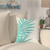 Invite tranquility onto your porch with these tropical aqua designs. The Outdoor Throw Pillow brights aqua hues and intricate leaf patterns are sure to heighten your and your guest's mood.