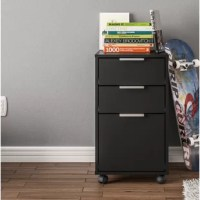 This Castelli 3 Drawer Vertical Filing Cabinet is a perfect fit for any office, with 1 drawer for hanging files and 2 drawers for all your office supplies. It is a great addition to any room that needs a little extra storage. This item comes on casters (wheels), so mobility is never an issue with this file cabinet.