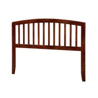 Complete your teen's bedding arrangement with this headboard, a breezy pick that's sure to lend their space a touch of classic appeal. Crafted from rubberwood, it features an arched silhouette accented by slat-style details. A five-step finish completes the look while protecting it against scratches and stains. This essential piece is designed to be mounted directly to a metal bed frame (not included). It's available in a variety of sizes to best suit your teen's space.