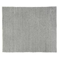 An everyday classic, this intricately Rialto Hand-Woven Gray Area Rug is made soft, yet durable polyester-cotton blend. Stylish and contemporary, the braided texture and neutral color make it a beautiful addition to any room.