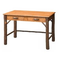 This desk is crafted in the USA by Amish artisans. These pieces are built with mastery, using mortise and tenon joints that have been used by woodworkers for the USA and for years.